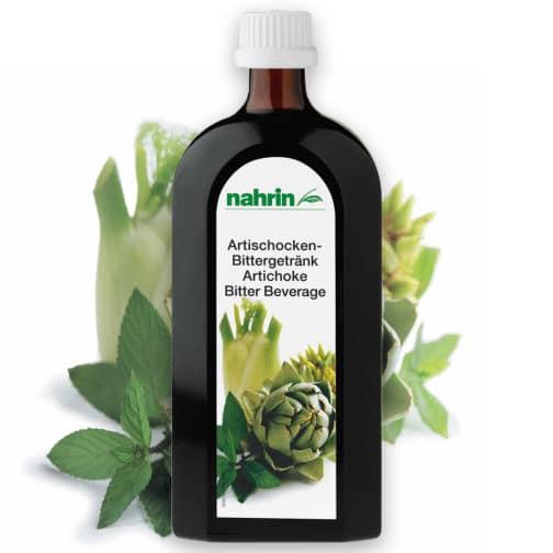 Напиток (500 мл) из артишока пищевая добавка для улучшения пищеварения и очищения организма