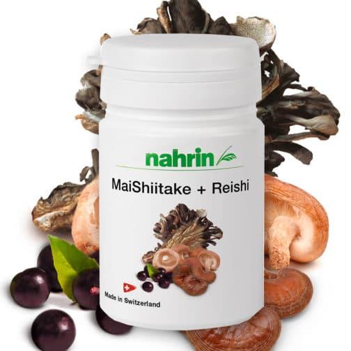 Капсулы мейшиитаке + рейши+ асаи – пищевая добавка для очищения и укрепления организма