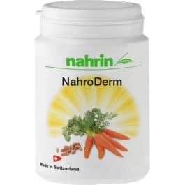 Nahroderm kapsulas, ādas aizsardzībai pret UV starojumu, 16,80g/30 kaps.