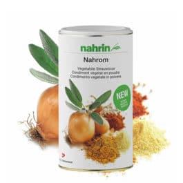 Nahrom, garšvielu maisījums ar zemu sāls saturu. 350g