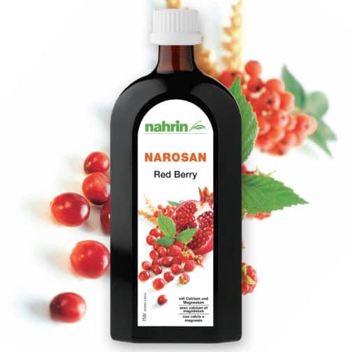 Sarkano ogu sīrups ar magniju, calciju un taurīnu