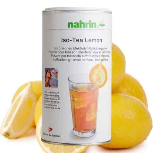 Izotoniskā tēja ar citronu, spota dzēriens