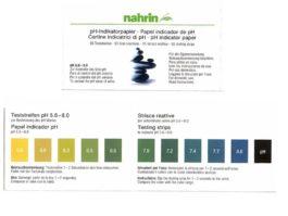 pH testēšanas loksnes organisma skābumam līmeņa noteikšanai. 55 gab