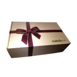 Подарочный набор NAHRIN. 3 разных специи и 4 пиалы для соусов.