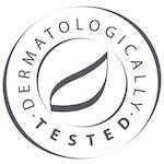 dermatoloģiski pārbaudīts